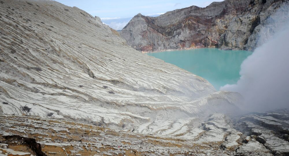 Volcan Ijen (photo d'archives)