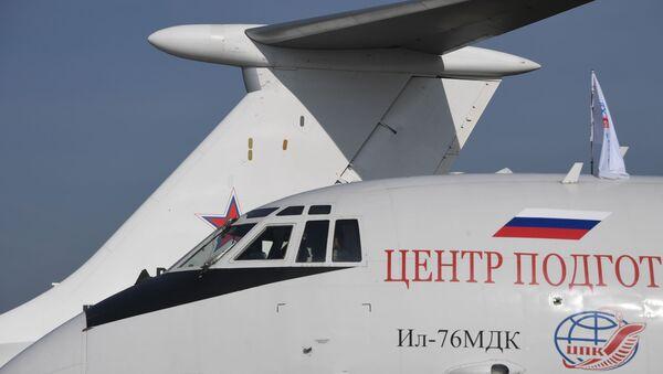 Un Iliouchine Il-76MDK du Centre russe de formation des cosmonautes (archive photo) - Sputnik France