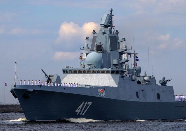 La frégate Amiral Gorchkov