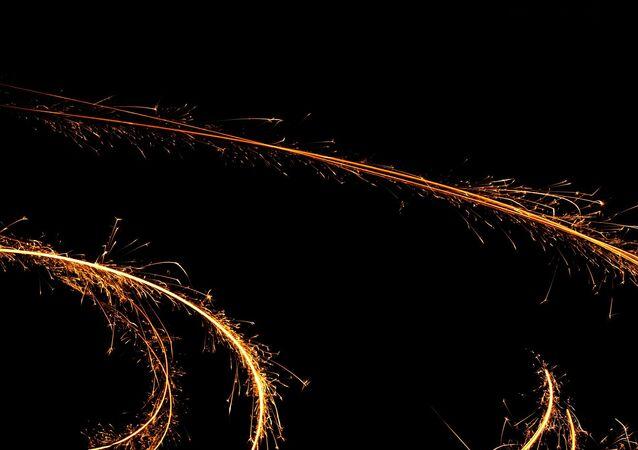 Etincelles (image d'illustration)