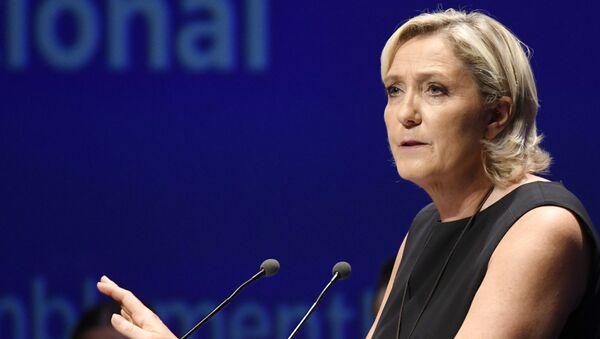 Présidente du RN Marine Le Pen - Sputnik France