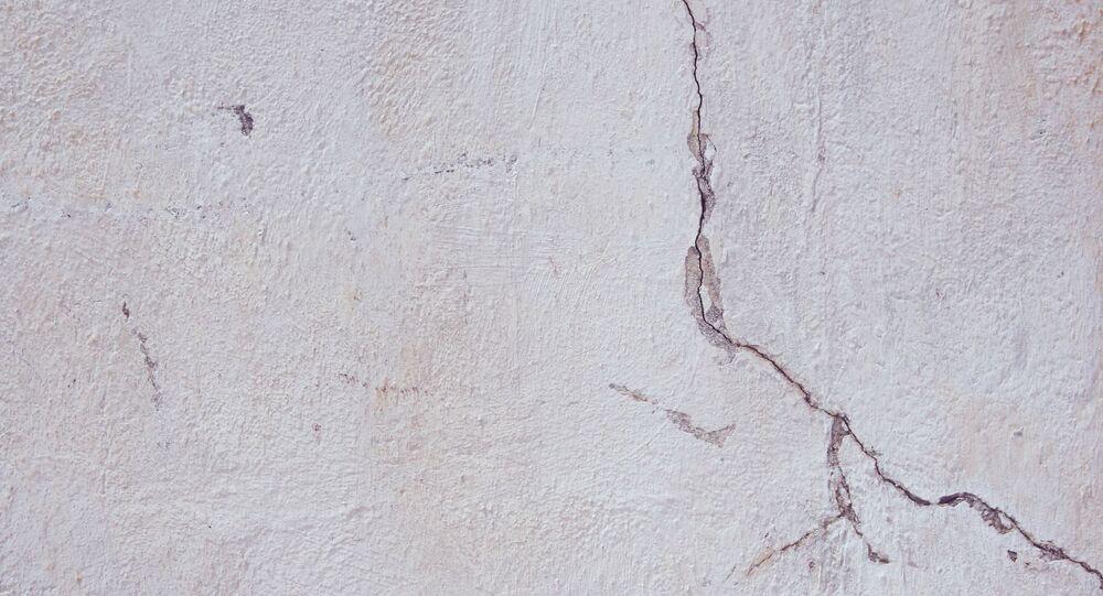 Fissures dans le mur