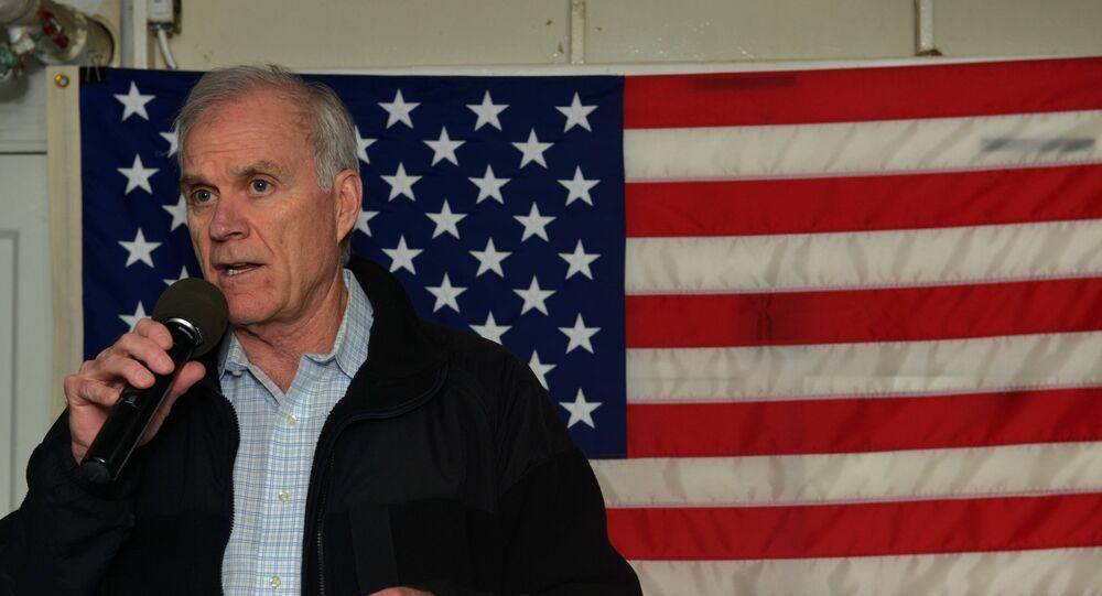 Secretary of the Navy Richard V. Spencer