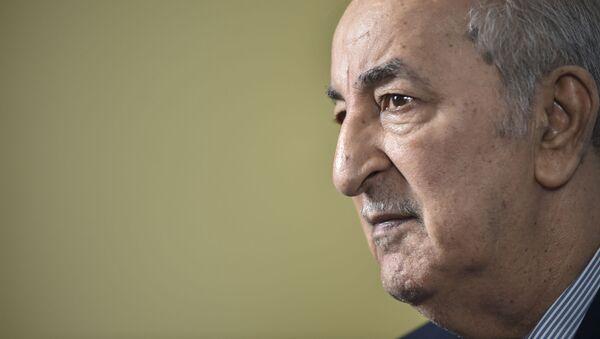 Président algérien Abdelmadjid Tebboune - Sputnik France