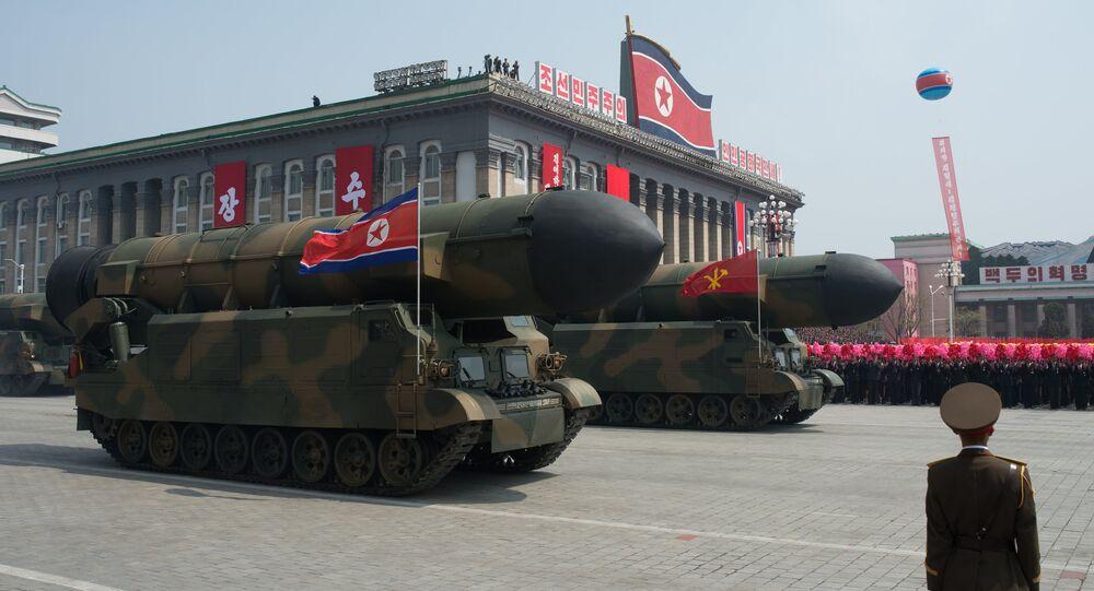 Un défilé militaire en Corée du Nord