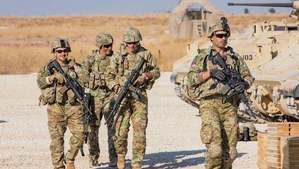 Des soldats américains en Syrie (archive photo) - Sputnik France