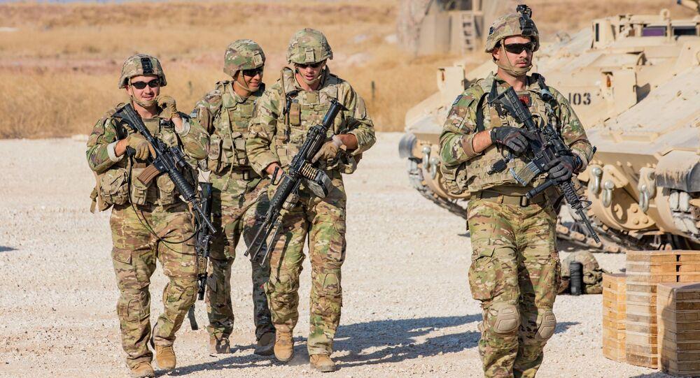 Des soldats américains en Syrie (archive photo)