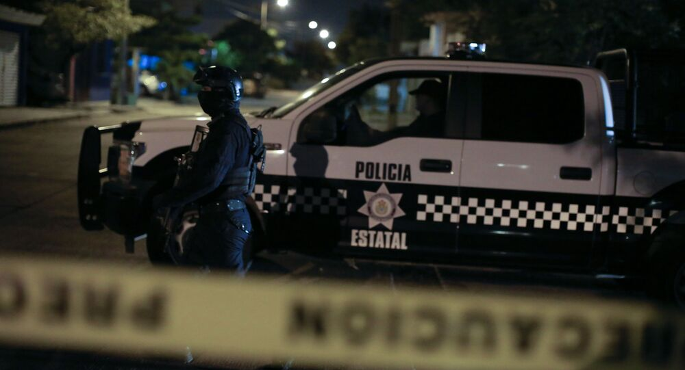 Mexican national police (File)