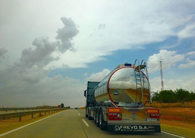 Un camion-citerne (image d'illustration)