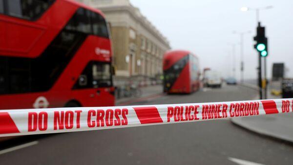 La police britannique sur le pont de Londres - Sputnik France