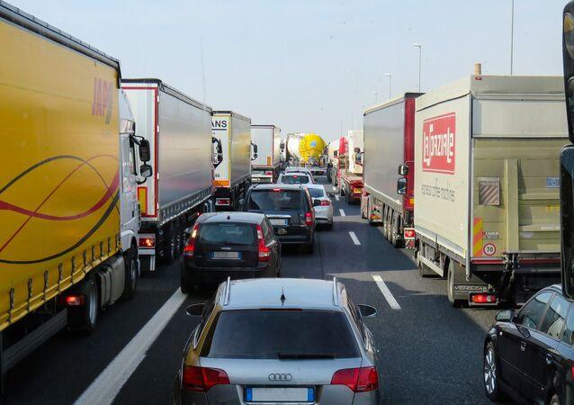 Un embouteillage