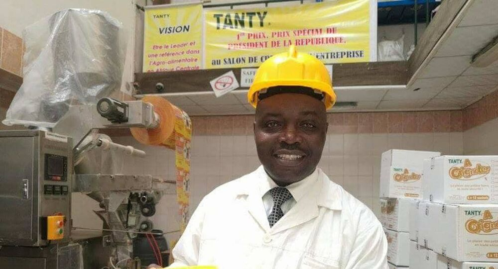 Thierry Nyamen, promoteur NTFoods.
