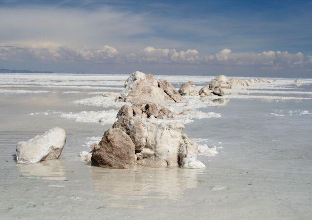 La Saline Uyuni, en Bolivie