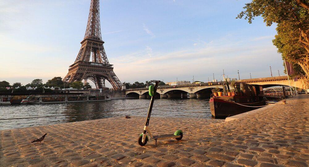 Trotinette électrique à Paris