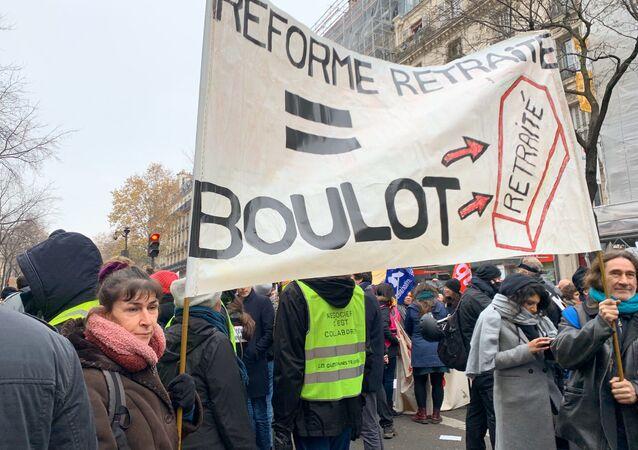 Manifestation à Paris, 5 décembre 2019