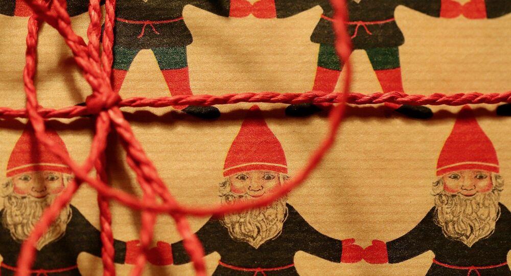 Papier cadeau (image d'illustration)
