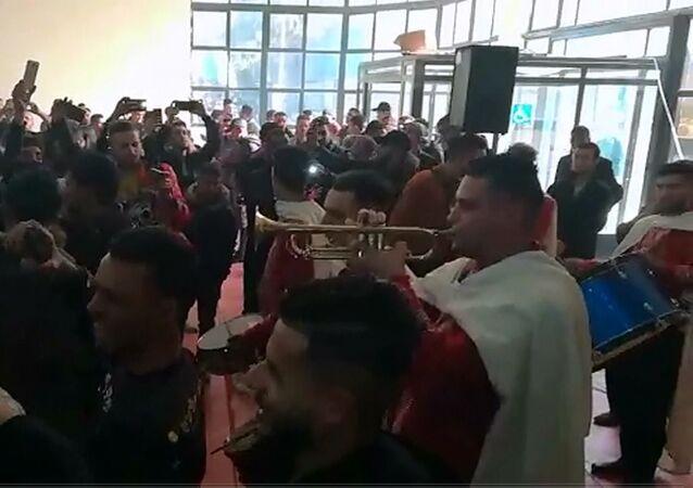 Rassemblement de l'Union générale des étudiants algériens, 5 décembre 2019