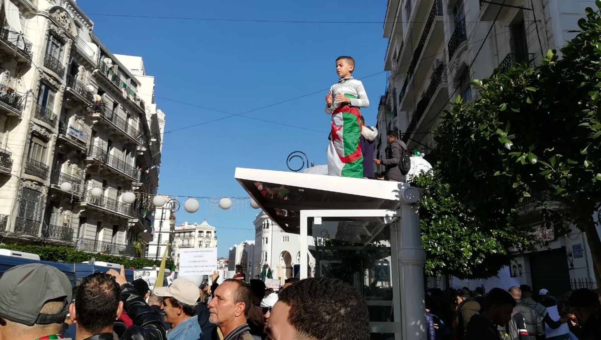 Manifestation en Algérie, 6 décembre 2019 - Sputnik France, 1920, 19.03.2021