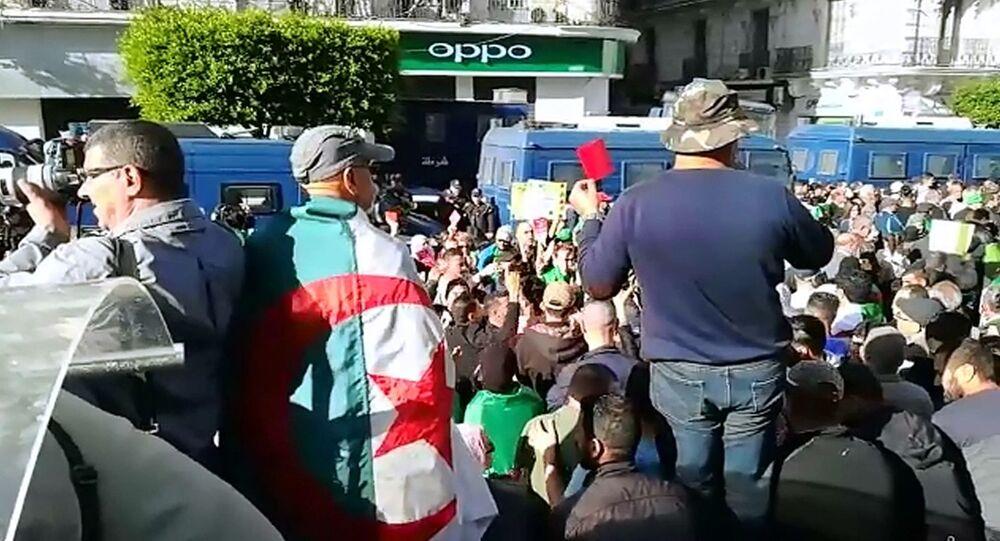 Manifestation en Algérie, 6 décembre 2019