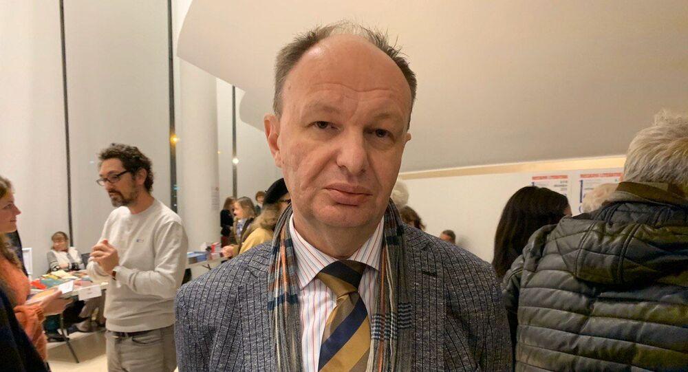 Mikhaïl Seslavinsky, directeur de l'agence Rospetchat