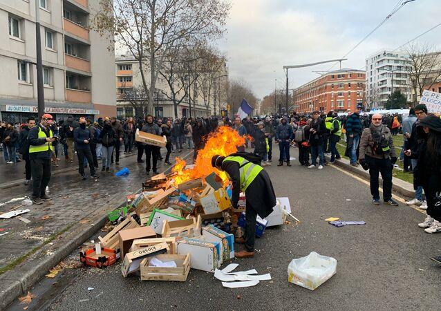 Acte 56 des Gilets jaunes à Paris