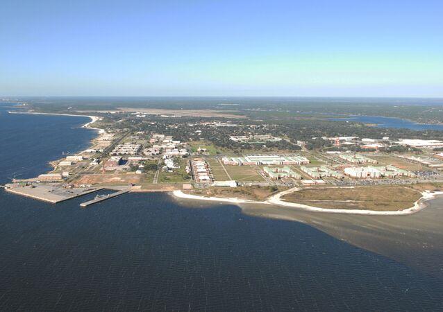 La base aéronavale de Pensacola, en Floride