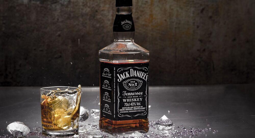 Une bouteille de Jack Daniel's