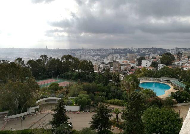 Vue de la ville d'Alger