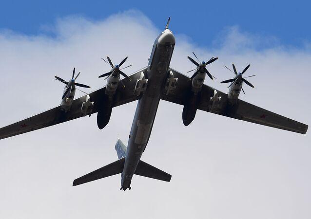 Un Tupolev Tu-95MS