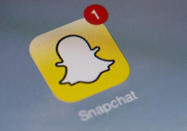 Logo de l'application  Snapchat
