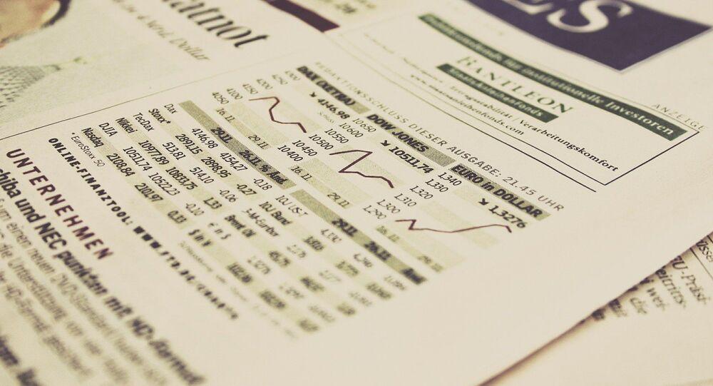 Données boursières (image d'illustration)