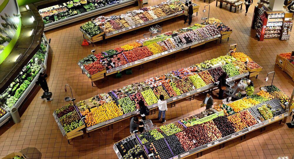 Un supermarché (image d'illustration)