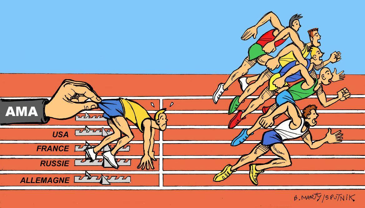 Dopage: l'AMA prive la Russie des Jeux olympiques pendant 4 ans