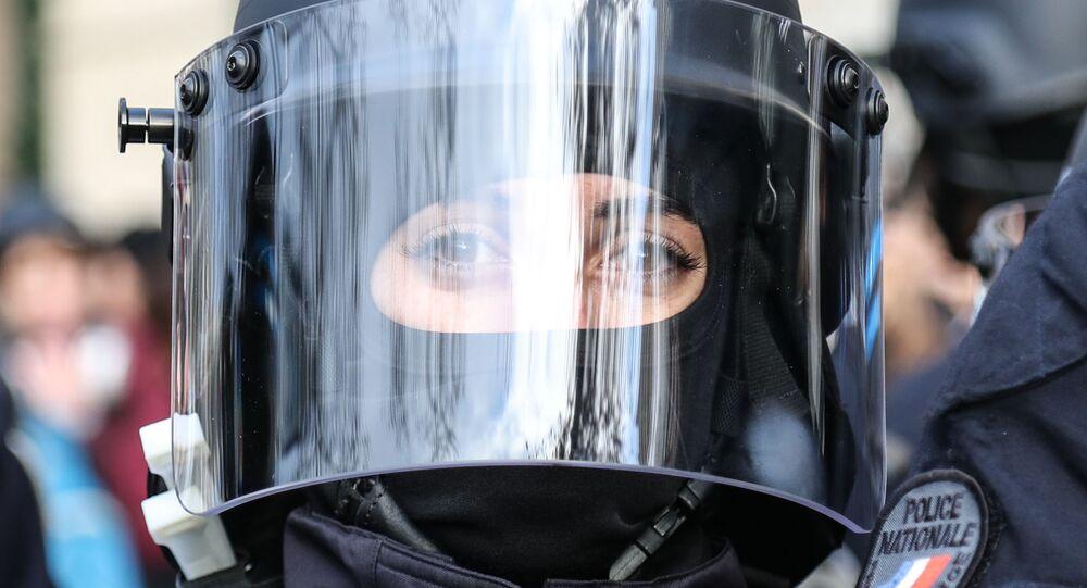 Policière (image d'illustration)