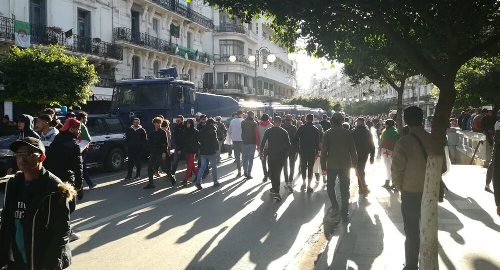 Manifestation à Alger