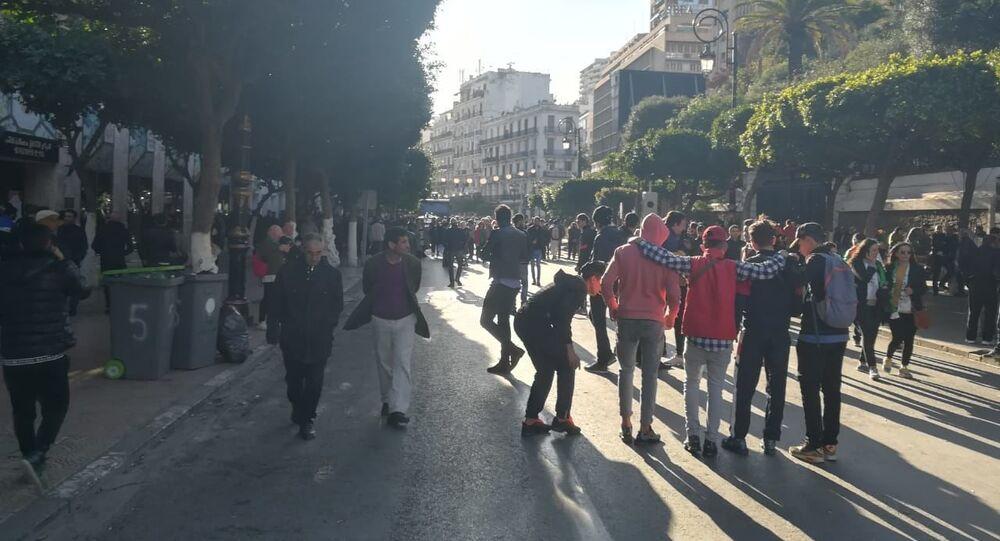 Manifestation du Hirak à Alger