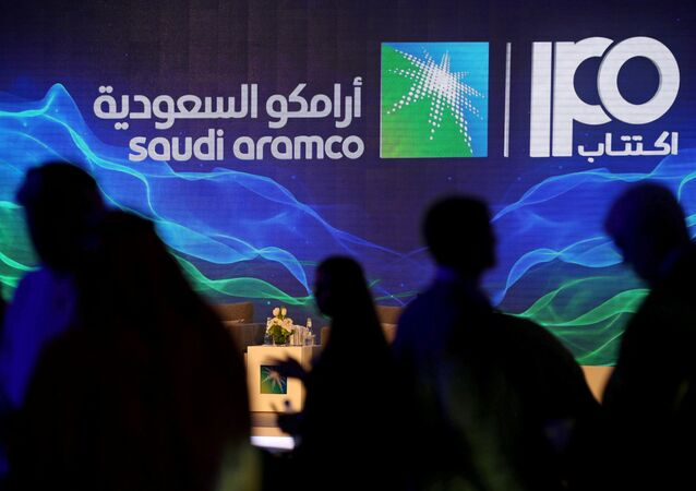 Signe de l'introduction en bourse de Saudi Aramco