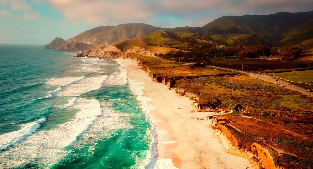 Une plage de Californie (image d'illustration)