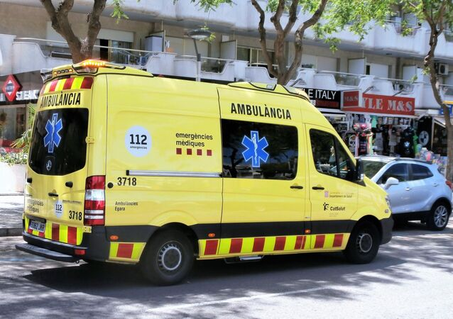 Une ambulance