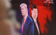 Image représentant Donald Trump et Xi Jinping, respectivement Présidents des Etats-Unis et de la Chine