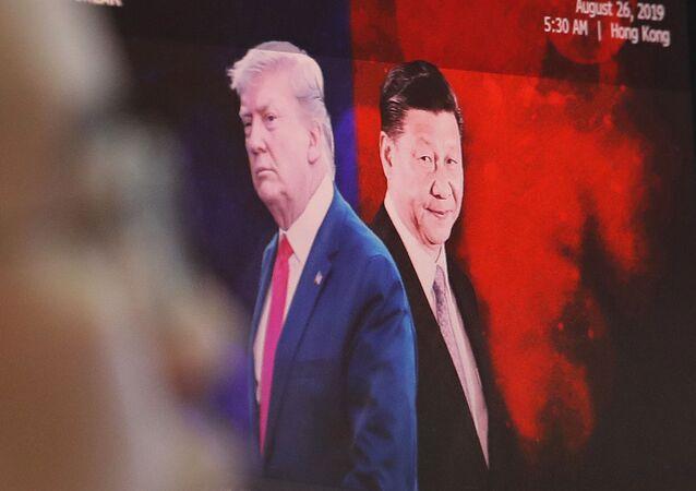 Leaders américain et chinois