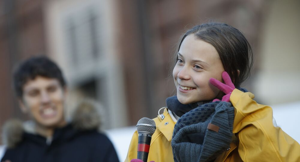 Greta Thunberg (photo d'archives)