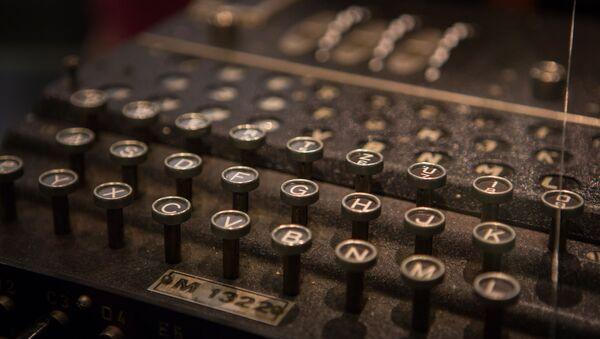 Clavier d'une machine de cryptage Enigma - Sputnik France