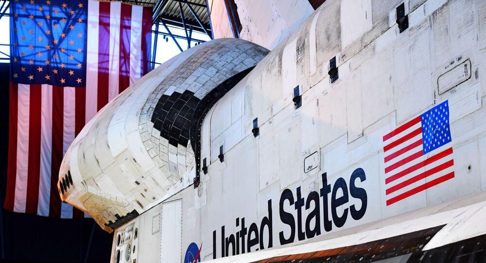 La navette spatiale Discovery