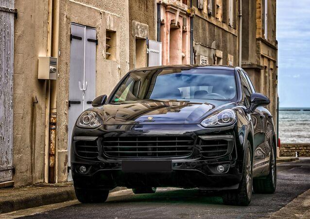 Une Porsche Cayenne