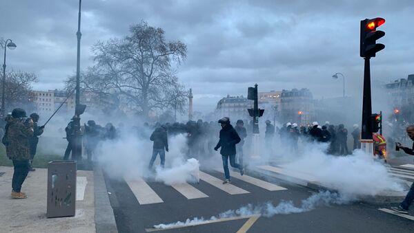 Grève du 17 décembre, Paris - Sputnik France