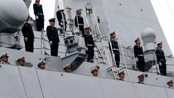 Membres de la marine chinoise - Sputnik France