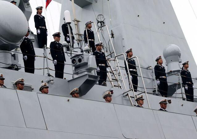 Membres de la marine chinoise