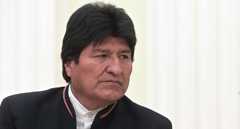 Evo Morales (archive photo)