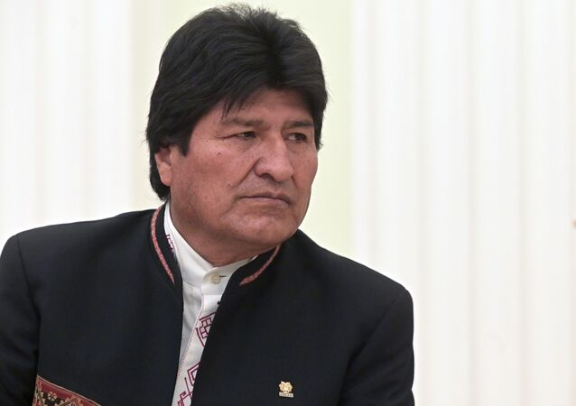 Evo Morales (archive photo)